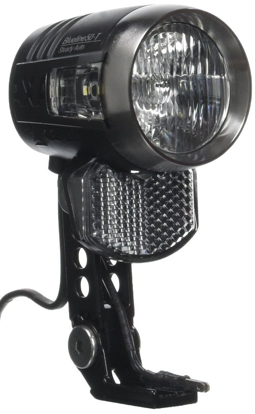 Fahrradlicht mit Reflektor