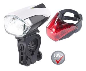 KryoLights Fahrrad LED Set mit Akku