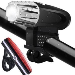 ToHayie Wasserdicht LED Fahrradbeleuchtung