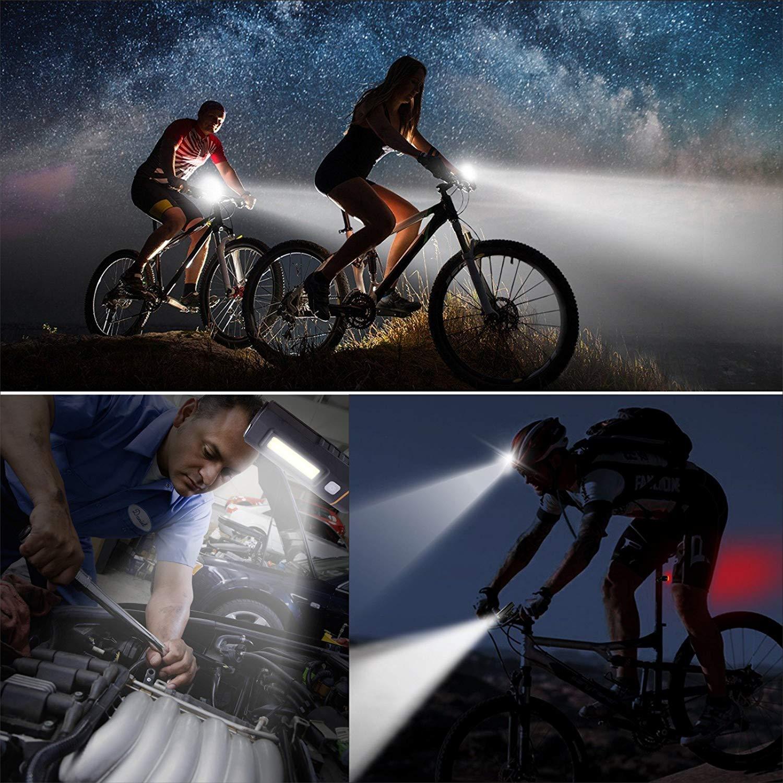 Baytter Fahrradbeleuchtung Set