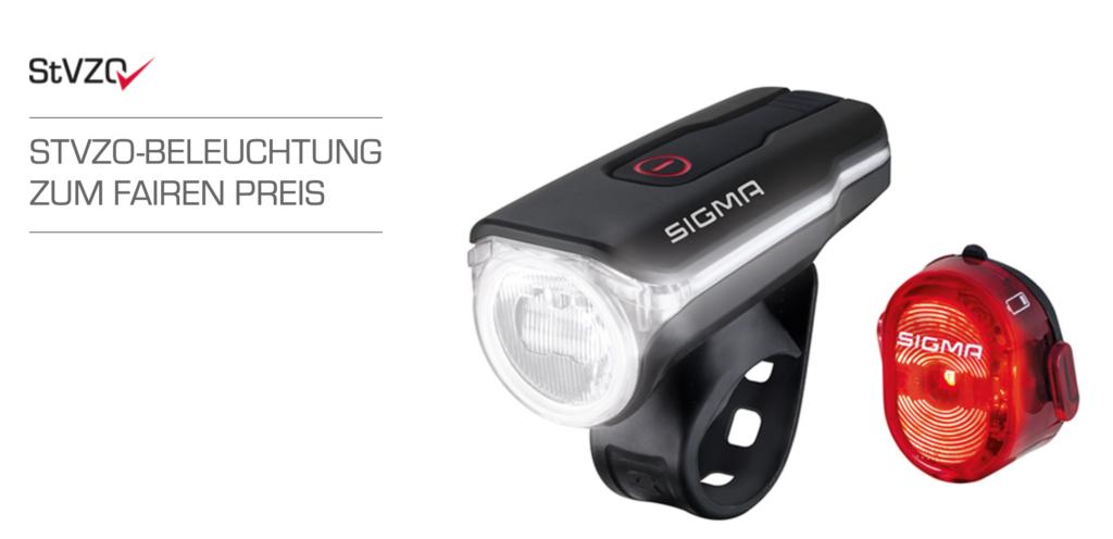 Sigma Sport LED Fahrradbeleuchtung-Set